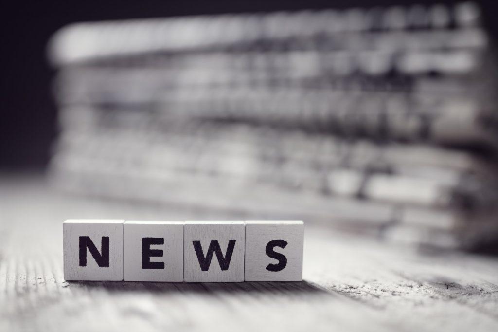 News and newspaper headlines